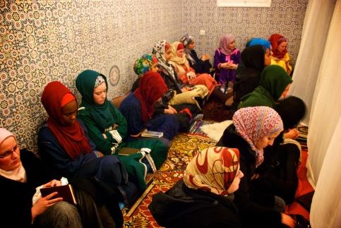 Laylatul dhikr at the madrassa for the Mawlid